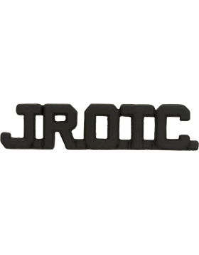 ROTC Black Metal (RC-B302) J.R.O.T.C. Collar Letters