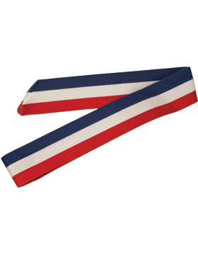 ROTC Neck Drape (RC-D302) Red White and Blue