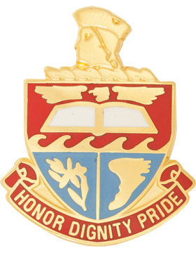 Hillcrest High School (Honor Dignity Pride) JROTC Unit Crest