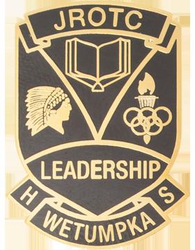 Wetumpka High School (JROTC Leadership Wetumpka HS) JROTC Unit Crest
