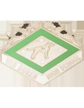 Van Buren High School JROTC Unit Crest