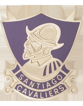 Santiago High School (Santiago Cavaliers) JROTC Unit Crest