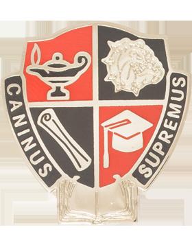 Centennial High School (Cannus Supremus) JROTC Unit Crest