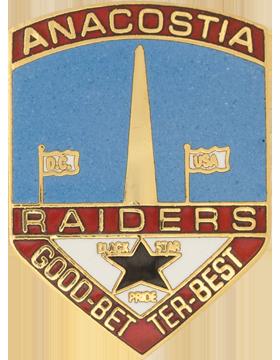 Anacostia High School (Anacostia Raiders Good--Better-Best) JROTC Unit Crest