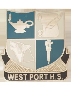 West Port High School (West Port H.S.) JROTC Unit Crest