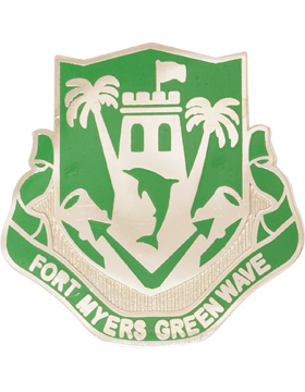 Fort Myers High School (Fort Myers Green Wave) JROTC Unit Crest