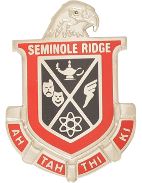 Seminole Ridge Community High School (Ah Tah Thi Ki) JROTC Unit Crest