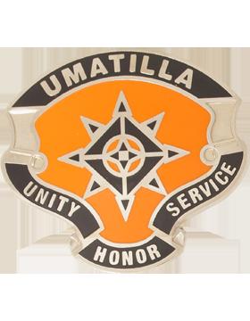 Umatilla High School (Umatilla Unity Honor Service) JROTC Unit Crest