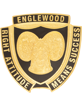 \Englewood High School (Right Attitude Means Success) JROTC Unit Crest