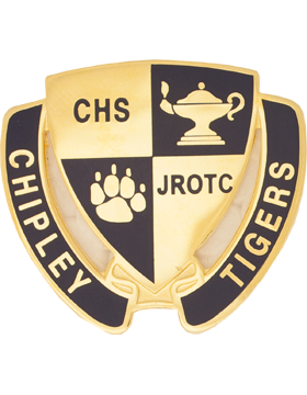 Chipley High School (Chipley Tigers) JROTC Unit Crest