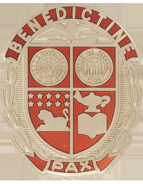 Benedictine Military School (Benedictine Pax) JROTC Unit Crest