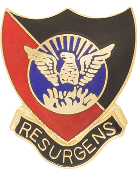 D.M. Therrell High School (Resurgens) JROTC Unit Crest