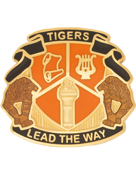 Metter High School (Tigers Lead The Way) JROTC Unit Crest
