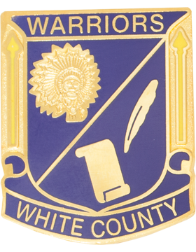 White County High School (Warriors White County) JROTC Unit Crest