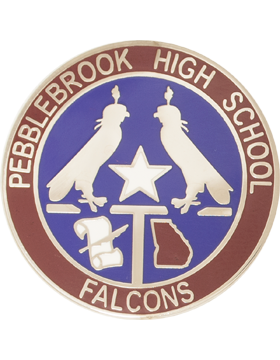Pebblebrook HS (Pebblebrook High School Falcons) JROTC Unit Crest