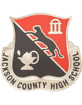 Jackson County Comp High School (Jackson County High School) JROTC Unit Crest