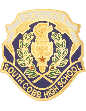 South Cobb High School (Eagles South Cobb High School) JROTC Unit Crest