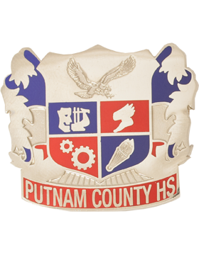 Putnam County High School (Putnam County HS) JROTC Unit Crest