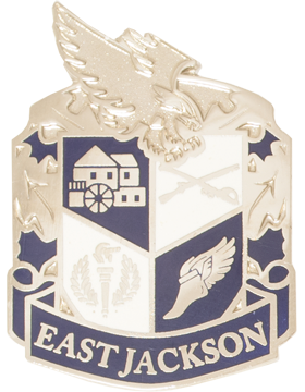 East Jackson High School (East Jackson) JROTC Unit Crest