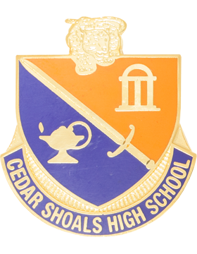 Cedar Shoals High School JROTC Unit Crest
