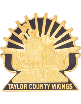 Taylor County High School (Taylor County Vikings) JROTC Unit Crest