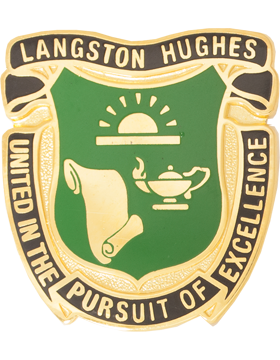 Langston Hughes HS (United in the Pursuit of Excellence) JROTC Unit Crest