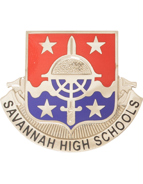 Savannah High School JROTC Unit Crest