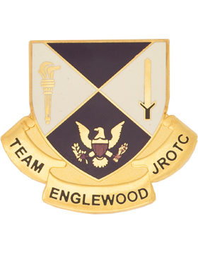 Englewood High School (Team Englewood JROTC) JROTC Unit Crest