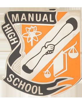 Manual High School JROTC Unit Crest