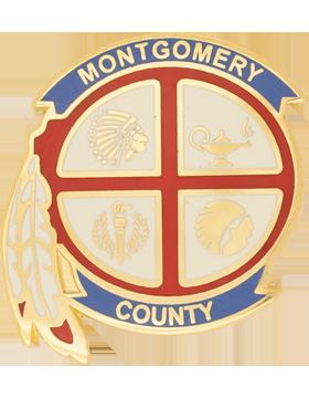 Montgomery County High School (Montgomery County) JROTC Unit Crest