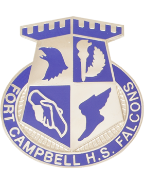 Fort Campbell High School (Fort Campbell H.S. Falcons) JROTC Unit Crest