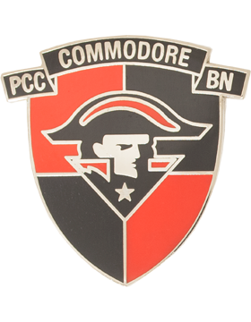 Perry County Central High School (PCC Commodore BN) JROTC Unit Crest