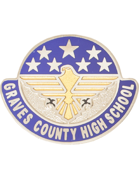 Graves County High School JROTC Unit Crest