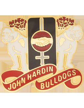 John Hardin High School (John Hardin Bulldogs) JROTC Unit Crest