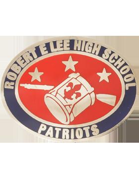Robert E Lee High School (Patriots) JROTC Unit Crest