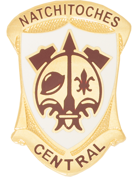 Natchitoches Central High School (Natchitoches Central) JROTC Unit Crest