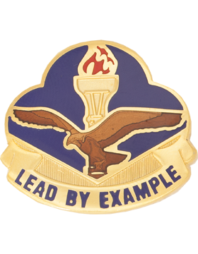 Hermon High School (Lead By Example) JROTC Unit Crest