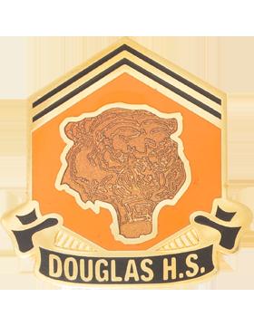 Douglas High School (Douglas H.S.) JROTC Unit Crest