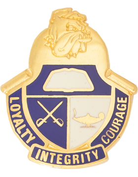 Long Island City High School (Loyalty Intergrity Courage) JROT Unit Crest