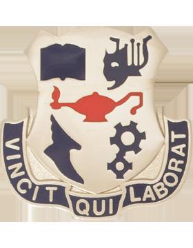 Springfield High School (Vincit Qui Laborat) JROTC Unit Crest