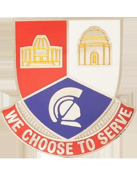 Timken Sr High School (We Choose To Serve) JROTC Unit Crest