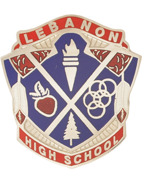 Lebanon High School JROTC Unit Crest