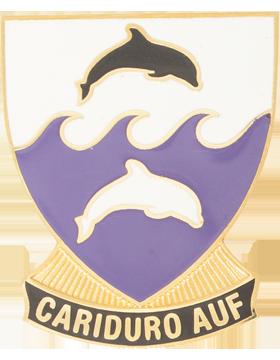 Ana Delia Flores Santana Vocational High School (Cariduro Auf) JROTC Unit Crest