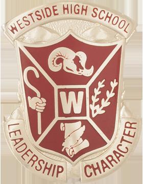 Westside High School (Leadership Character) JROTC Unit Crest