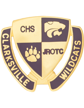 Clarksville High School (Clarksville Wildcats) JROTC Unit Crest