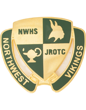 Northwest High School (Northwest Vikings) JROTC Unit Crest