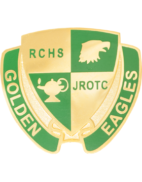 Rhea County High School (Golden Eagles) JROTC Unit Crest
