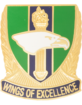 Independence High School (Wings of Excellence) JROTC Unit Crest