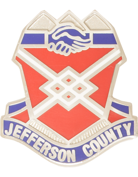 Jefferson County High School (Jefferson County) JROTC Unit Crest