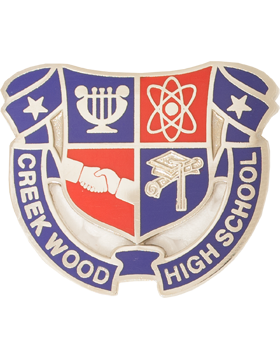 Creek Wood High School JROTC Unit Crest